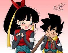 Dragon Ball Z, Dbz, Anime Art, Pokemon, Fan Art, Manga, Artwork, Devil, Kid Goku