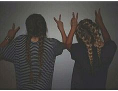 best friends, grunge, tumblr