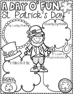 St. Patrick's Day Fun {Literacy Activities for Little Learners}