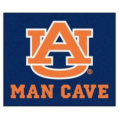 Collegiate Auburn University Man Cave Tailgater Area Rug