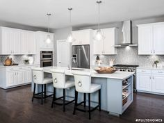 Customized to fit your personal style. Pulte Homes, Kitchen Styling, New Kitchen, Cool Kitchens, Perfect Fit, Modern, Table, Kitchen Designs, Furniture