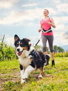 10 Tips for Running with Your Dog | via @Woman's Day @SparkPeople #pets #run #fitness
