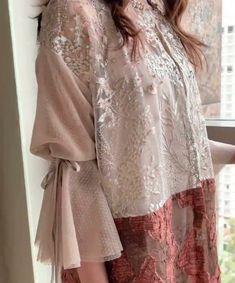 Kebaya Dress, Designer Party Wear Dresses, Sleeve Designs, Bridal Headpieces, Kaftan, Evening Gowns, Style Me, Tunic Tops, Blouses