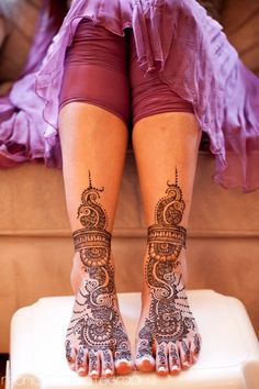 Feet Henna...