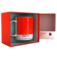 """Pantone Color of the Year """"Tangerine Tango"""".....love that mug!"""