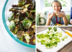 the 52 new foods challenge | brussels sprouts chips