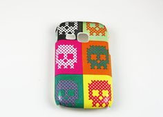 Cross Stitched Sculls Samsung Galaxy Young Skin Cover, iPhone 4/4s/5/5s, Samsung Galaxy S4 , Nokia Lumia 521/920/925, HTC One/X/S on Etsy, $22.59 AUD