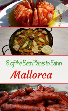 How to choose places to eat in Mallorca that you will LOVE, whether you've been to Spain before or not! These eight restaurants, from Palma de Mallorca city centre to Port de Soller, Port de Alcudia and even restaurants by the prettiest beaches in El Arenal. Find your perfect spot for dinner - whether you want tapas, paella or something totally different - in this tried and tested round-up of recommendations now!