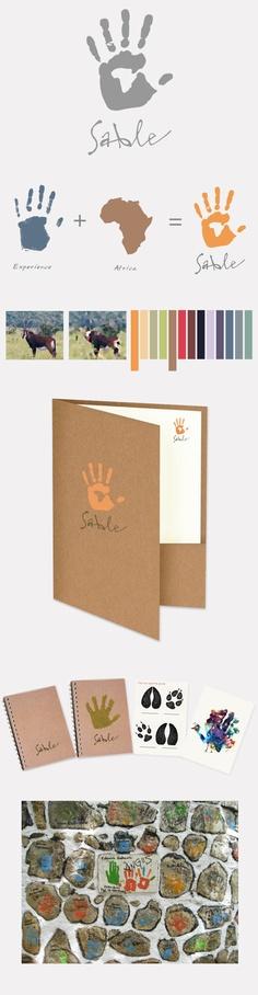 Sable Childrens Charity by Anastasia Gerali, via Behance