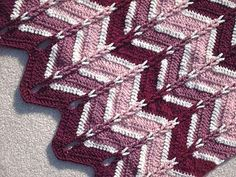 Tips for making a Jacob's Ladder ripple crochet project, and links to 9 Jacob's Ladder patterns from alottastitches