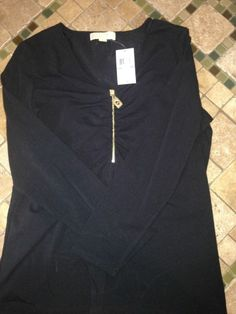 Michael Kors Gold Zip Front. NWT! Authentic Size 2x Retail for $79.50