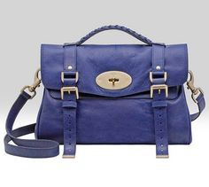 Mulberry Alexa Ink Blue - the best bag I own