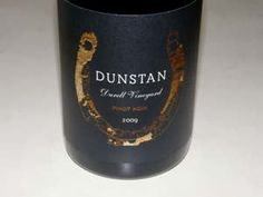 "Dunstan Wines--2009 Pinot Noir. We visited this awesome estate with its famous ""Durell Vineyards."" This particular pinot offers aromas of spiced black cherries, black cap raspberries, sassafras and oak, with flavors of dark cherries and berries with notes of tea and vanilla. Soft in the mouth, almost creamy, with silky tannins and amazing length on the generous finish. A must visit if one visits Napa! Excellent, fabulous bottle of wine."