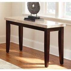 Shop for Malone Marble Top Sofa Table by Greyson Living. Get free shipping at Overstock.com - Your Online Furniture Outlet Store! Get 5% in rewards with Club O! - 16775314