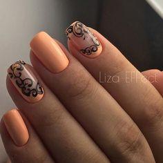 Идеи маникюра. Дизайн ногтей. Временное тату