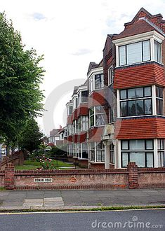 An art deco block of flats in Hove Sussex England