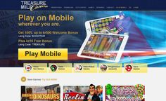 Instant play offers a great alternative to the download version - Treasure Mile Casino >> jackpotcity.co/r/190.aspx