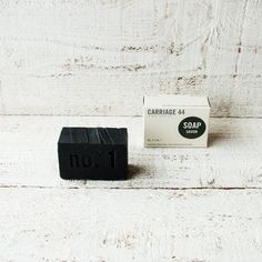 This handmade soap's scent is both spicy and mellow - with notes of black pepper and ylang ylang. Bamboo charcoal has purifying and detoxifying properties.