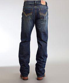 Blue V Deco Stitch Jeans - Men's Regular