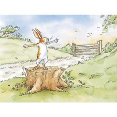 Anita Jeram - Guess How Much I Love You, This Much, Collector's Edition print.