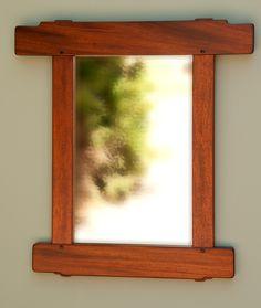 Greene & Greene Mirror and Picutrre Frames