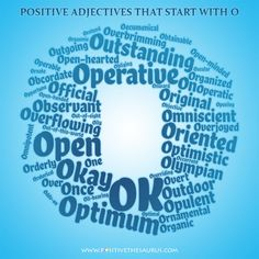 describing words that begin with o