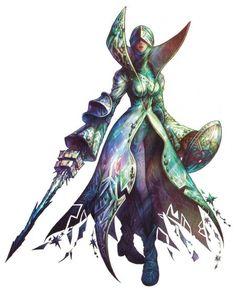Shiva from Final Fantasy Tactics
