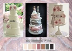 Optimistic Pink: According to the fashion industry this will be one of the colors for weddings in 2021. Enjoy! Want to know more about wedding planning... Visit our website - www.ectaint.com Wedding Trends, Industrial Style, Wedding Colors, Wedding Planning, Weddings, Website, Cake, Pink, Fashion