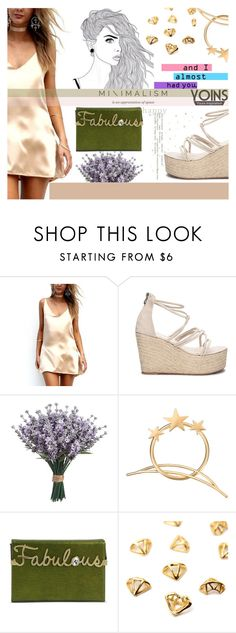 """""""#Green&BlushWithYoins"""" by juromi ❤ liked on Polyvore featuring Charlotte Olympia, yoins, yoinscollection and loveyoins"""