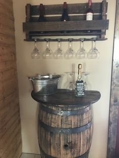 This Rustic DIY wine barrel table is so easy to make. Very Budget friendly and guaranteed to be a rustic masterpiece in your home.
