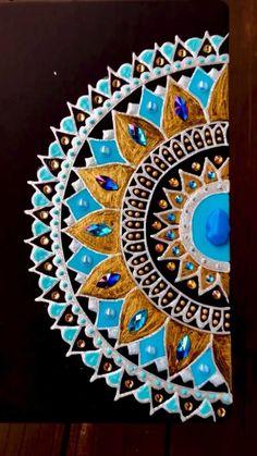 Mandala Artwork, Victoria, Beach Mat, Outdoor Blanket, Handmade, Painting, Hand Made, Painting Art, Paintings