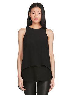 Sleeveless Silk Shirt - Polo Ralph Lauren New Arrivals - RalphLauren.com