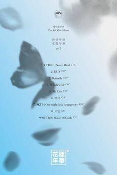 BTS Tracklist