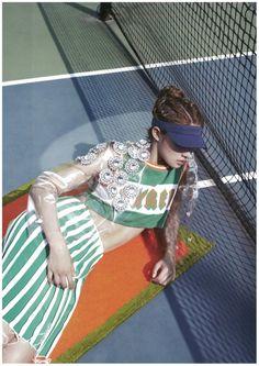 Choi Ara for Harpers Bazaar Korea June 2014