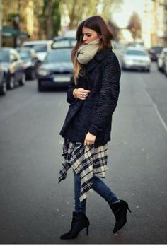 Love this street style fashion {black and casual}