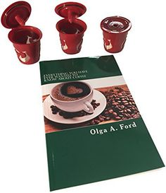 3 reusable kcups and free book on coffee clean easy bpa free quality coffe cups designed to work with keurig u0026 most machines donu0027t buy