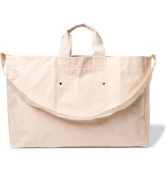 COTTON-CANVAS Tote Bag http://cache.mrporter.com/images/products/665157/665157_mrp_in_l.jpg large