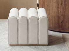 Buy online Arkad By zilio a&c, rectangular fabric pouf design NOTE Design Studio Note Design Studio, Notes Design, Design Awards, Design Trends, Bench Furniture, Furniture Design, Cafe Interior, Interior Design, Sliding Panels