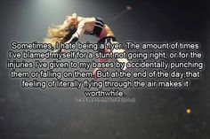 Cheerleading Confessions www. Cheerleading Flyer, Cheer Flyer, Cheerleading Quotes, Cheer Stunts, Cheer Dance, Competitive Cheerleading, Gymnastics Quotes, Olympic Gymnastics, Cheerleading Videos