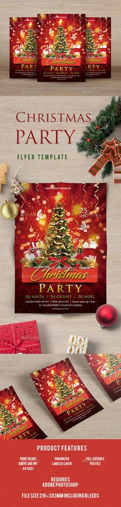 Christmas Flyer  Christmas Flyer Flyer Template And Christmas