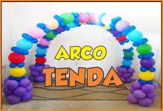 ARCO DE BALÕES - TENDA