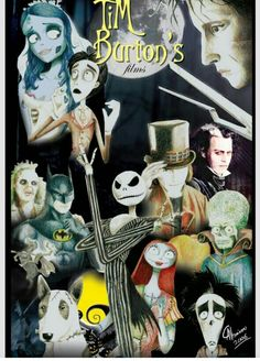 Tim Burton films