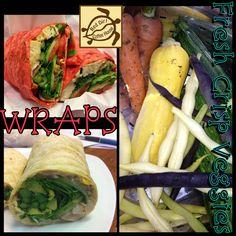 We make Wraps! Fresh Rolls, Wraps, Lunch, Chicken, Dinner, Breakfast, Healthy, Ethnic Recipes, Red