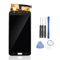 Full Assembly LCD Display+Touch Screen Digitizer Replacement With Repair Tools For Samsung Galaxy J7 2015 J700
