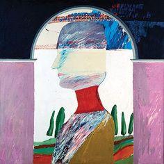 DAVID HOCKNEY  RENAISSANCE HEAD, 1963