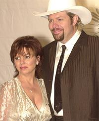 Toby and Tricia Keith  m. March 24, 1984. 29 years