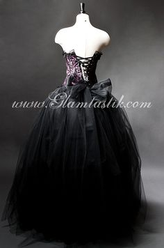 Tulle Prom Dress, Prom Dresses, Witch Wedding, Fancy Gowns, Plum Color, Burlesque, Lace Trim, Ball Gowns, Sequins