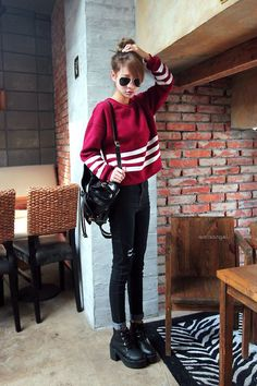awesome really like this look... by http://www.redfashiontrends.us/korean-fashion/really-like-this-look/