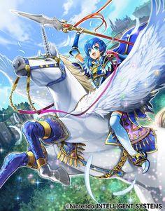 Ilustraciones completas - Shanna - Artworks e imágenes - Galería Fire Emblem Wars Of Dragons