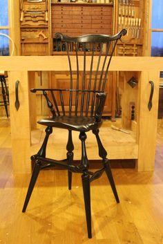 High Chair- Pennington Windsor Chairs